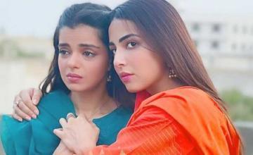 Ushna Shah's upcoming drama Aakhir Kab Tak seems to be an intense story