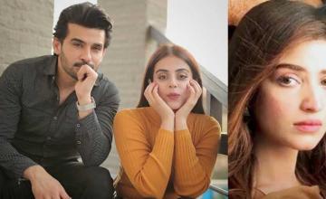 Fahad Sheikh, Kinza Hashmi and Yashma Gill starrer Azmaish is an intense love triangle story