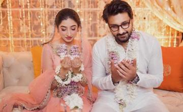 Mariyam Nafees surprises fans with her engagement pictures