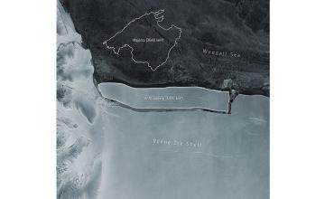 'Largest Iceberg in the World' – bigger than Rhode Island – breaks off Antarctic Ice Shelf