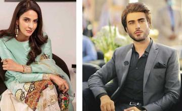 Saba Qamar and Imran Abbas to unite for the first time for Tmhare Husn Ke Naam