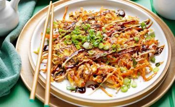 Chicken Okonomiyaki
