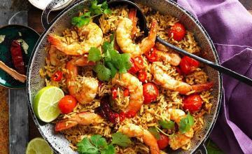 One-pan Coconut Chettinad Prawn Curry