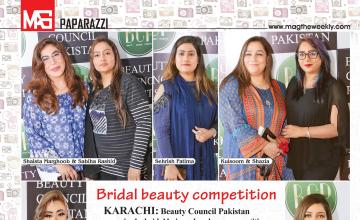 Bridal beauty competition