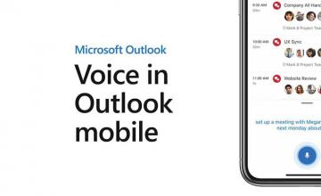 Microsoft Outlook for iOS now lets you use your voice to write emails