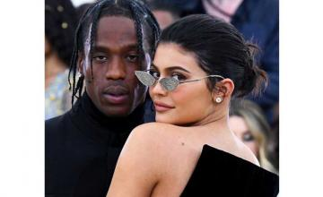 Kylie Jenner and Travis Scott spotted together along with daughter Stormi
