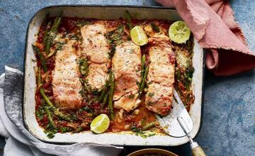 Baked Salmon with