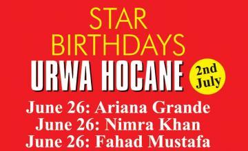 STAR BIRTHDAYS URWA HOCANE