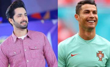 Danish Taimoor is overjoyed as he gets a mention in Cristiano Ronaldo's celebratory video
