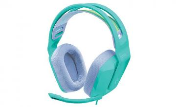 Logitech's G335 wired gaming headset has a colourful vibe to it