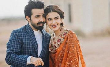 Sadia Ghaffar and husband Hassan Hayat Khan welcome their first born
