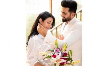 Sarah Khan and Falak Shabbir debut as a 'reel' pair for 'Zindagi'