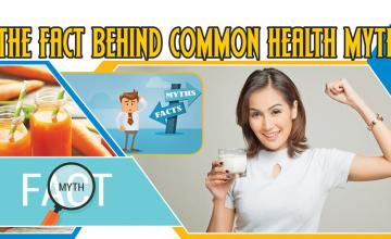 THE FACT BEHIND COMMON HEALTH MYTHS