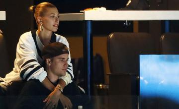 Inside Justin and Hailey Bieber's star-studded friends night out in Vegas