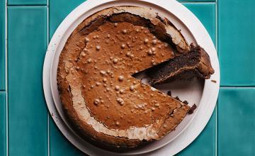 Flourless Chocolate Lamington Cake