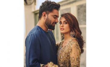 Iqra Aziz and Yasir Hussain welcome their first born
