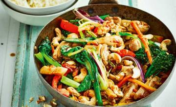 Chicken, Ginger and Oyster Sauce Stir Fry