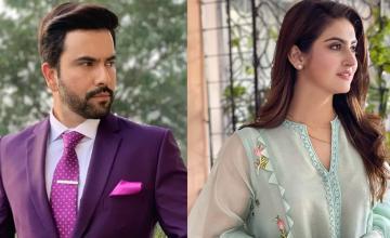 'Inteha-e-Ishq' to bring Hiba Bukhari and Junaid Khan together on the TV screen again