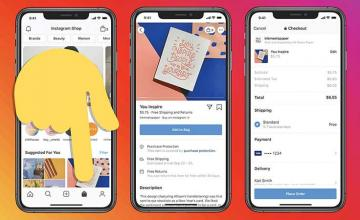 Instagram is now testing ads in its Shop tab