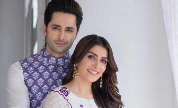 Celebrity couple Ayeza Khan and Danish Taimoor celebrates their 7th wedding anniversary