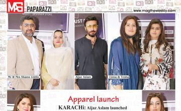 Apparel launch