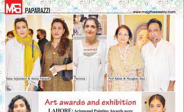 Art awards and exhibition