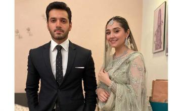 Wahaj Ali and Dur-e-Fishan Saleem are the unseen pair we're excited to see on-screen in an upcoming web series