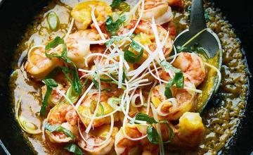 Tiger Prawn Toban with Chilli Butter