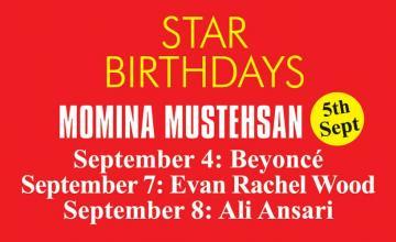 STAR BIRTHDAY MOMINA MUSTEHSAN