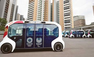Toyota suspends use of self-driving vehicles after collision with Paralympics athlete in Tokyo