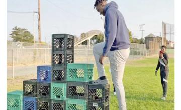 TikTok bans Milk Crate Challenge over concerns that viral videos 'glorify dangerous acts'