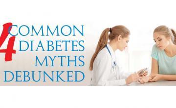 4 Common Diabetes Myths Debunked