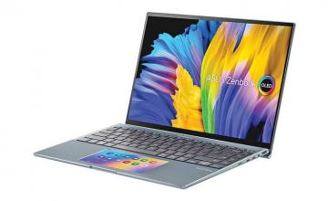 Asus's new Zenbook 14X is their latest thin and light laptop with an OLED screen