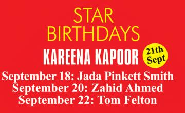 STAR BIRTHDAYS KAREENA KAPOOR