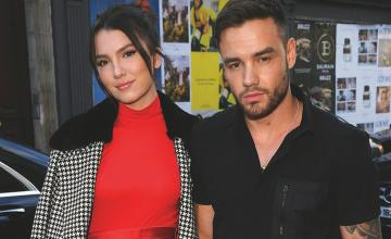 Liam Payne and Maya Henry made a lovely pair during London Fashion Week