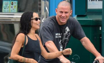 Channing Tatum amid romance rumours shares his first photo with Zoe Kravitz