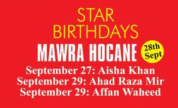 STAR BIRTHDAYS MAWRA HOCANE