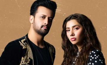 Mahira Khan and Atif Aslam paired up for a song after a 10-year hiatus since Bol