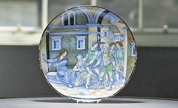 Rare 16th century Italian plate found in a drawer sells at auction for world record $1.7 million