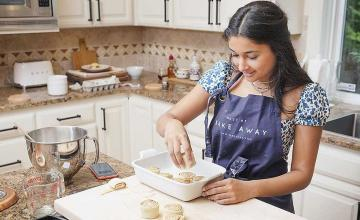18-year-old cookbook author is donating royalties to fight childhood hunger