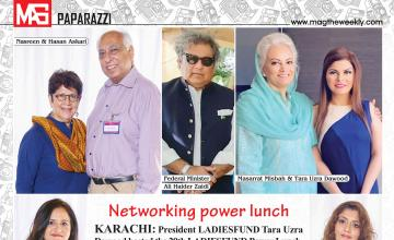 Networking power lunch