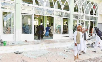 Suicide bombers kill at least 37, injure 70 at crowded Afghanistan mosque